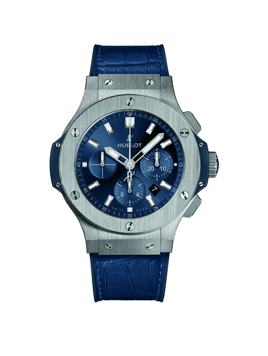 Hublot Big Bang Blue Steel Blue 44mm