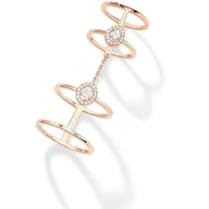 Messika Jewelry Glam'Azone Double Ring