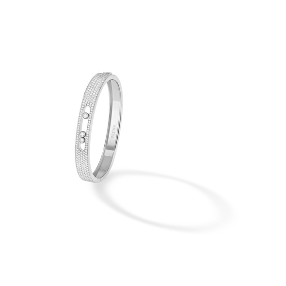 Messika Jewelry Move Joaillerie Pavé Bangle