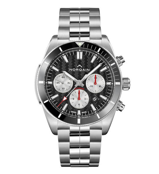 Adventure Sport Chrono Steel Norquain Watch