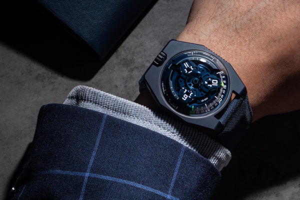 URWERK UR-100 Blue Planet Luxury Watch