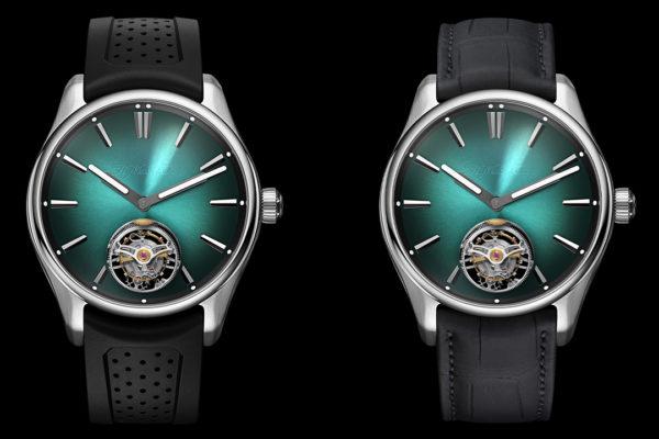 H. Moser & Cie. Pioneer Tourbillon MEGA Cool Luxury Watch