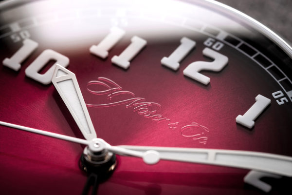 H. Moser & Cie. Heritage Dual Time Luxury Watch